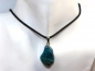 Preview: Chrysocolla on cord