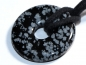 Preview: Snowflake obsidian on cord