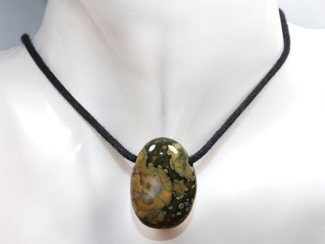 Rainforest rhyolite on cord