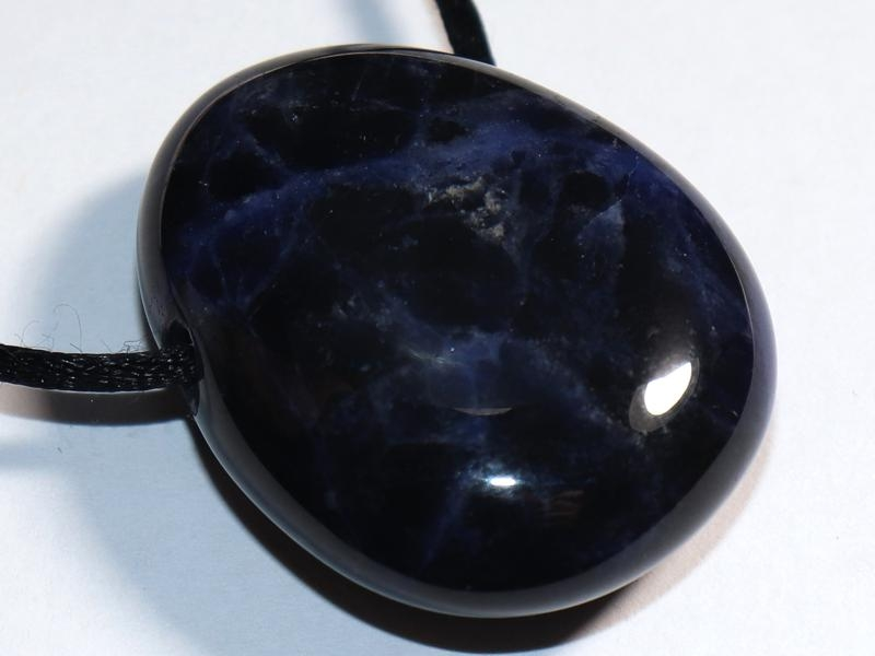 Sodalite on cord