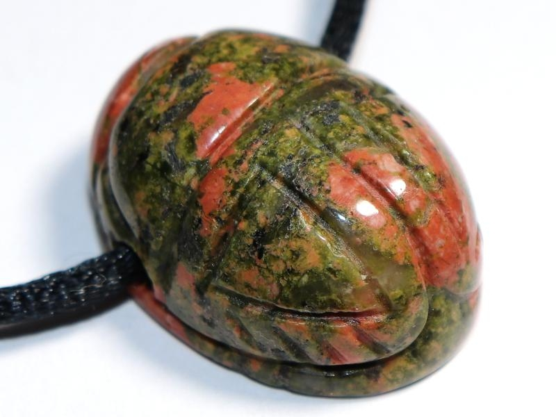 Unakite on cord